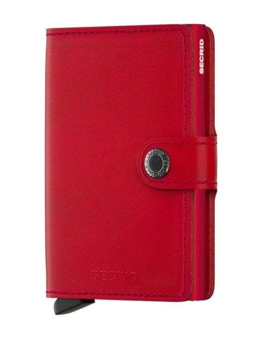 secrid wallet red