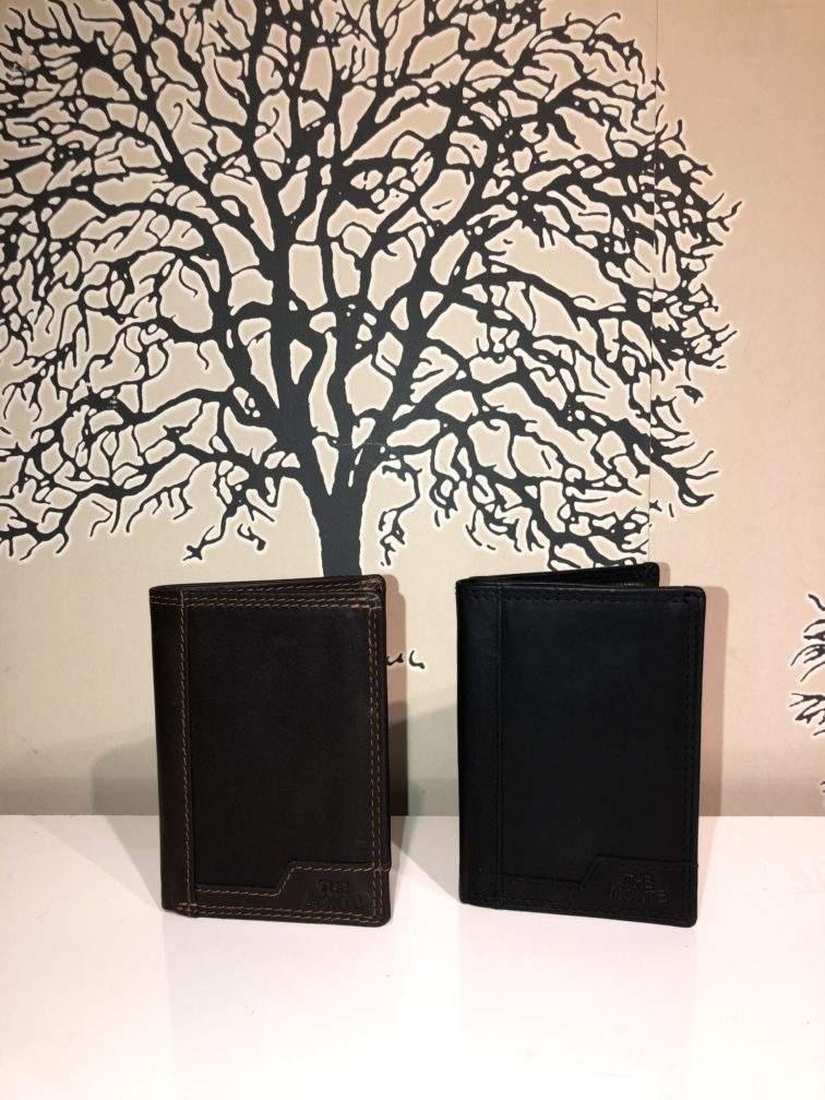 Plånbok-Korthållare i skinn