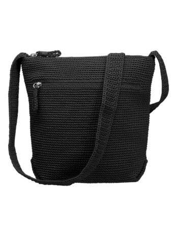 Virkad väska svart